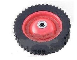 Fűnyíró kerék d=175mm d=12mm fém csapágyas